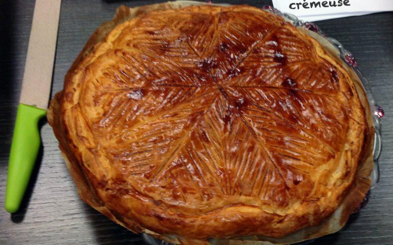 Galette des rois crémeuse (frangipane / crème pâtissière)