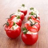 Recette de Mini tomates farcies au chèvre
