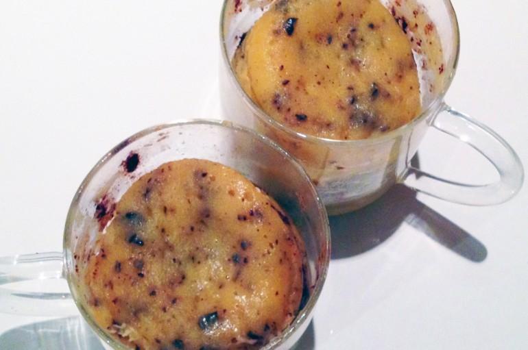 Mug Cake aux 2 Chocolats
