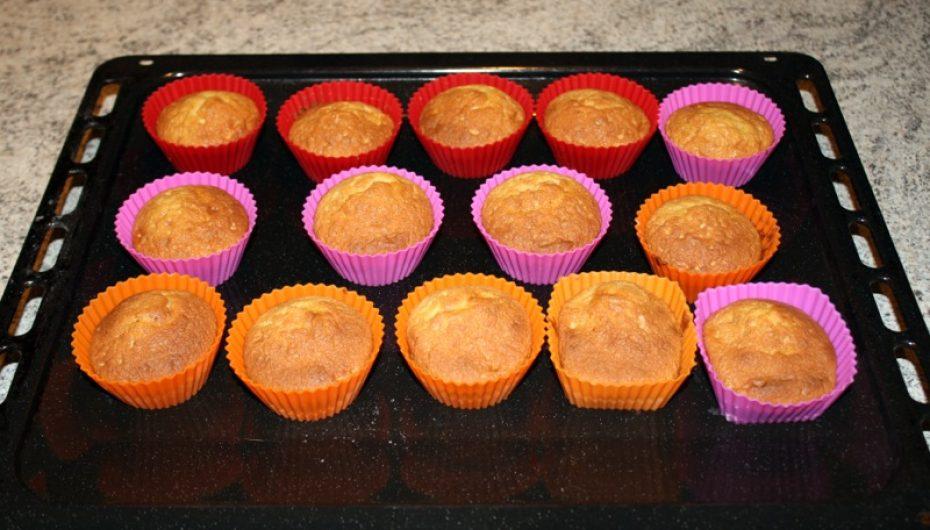 Muffins à la banane et aux Speculoos
