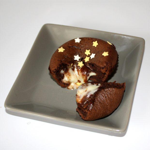 Recette de Mi-cuit coulant aux 2 chocolats