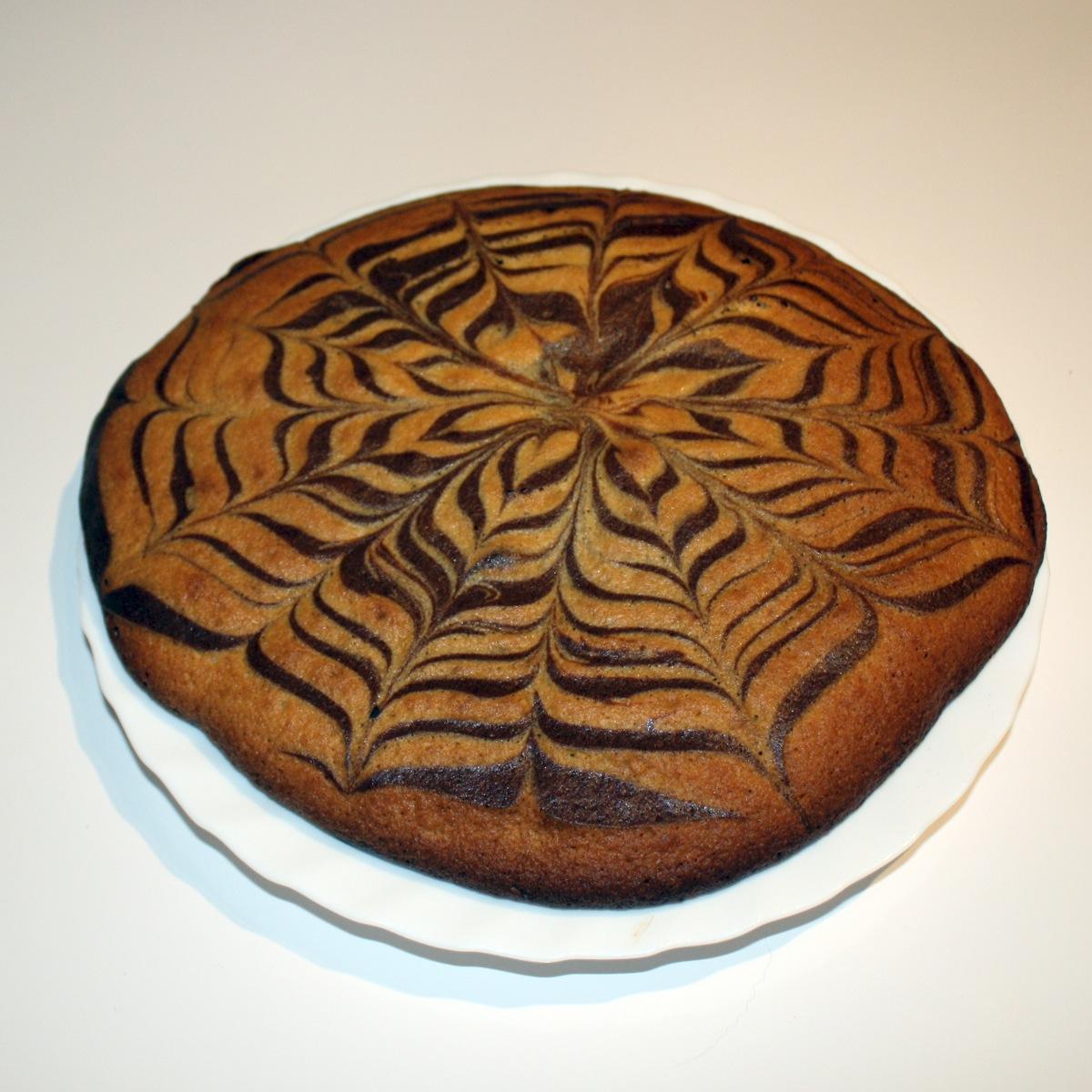 Recette de Zebra Cake aux 2 chocolats façon millefeuille