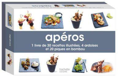 Mini-coffret Apéros - Hachette Cuisine