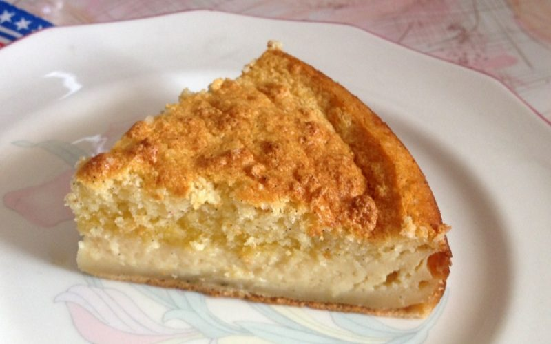 """Gâteau-flan à la vanille (ou """"Gâteau magique"""")"""
