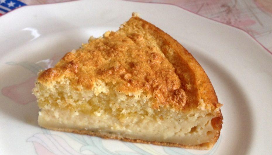 Gâteau-flan à la vanille (ou «Gâteau magique»)