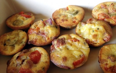 Muffins apéritif façon pizza