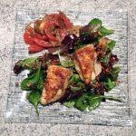 Recette de Salade et croûtons au reblochon pané