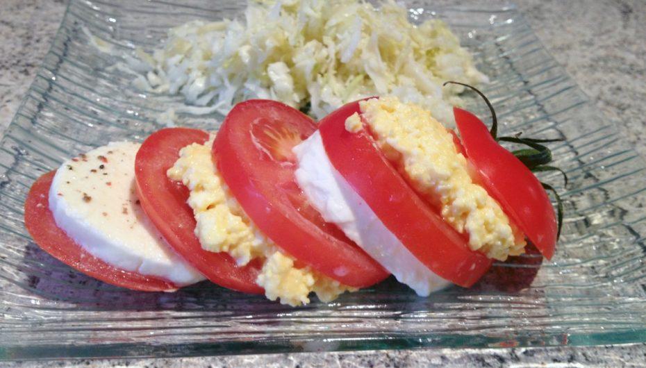 Tomates Mozzarella Mimosa