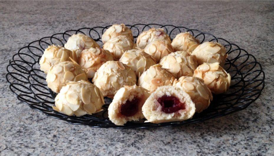 Biscuits siciliens amande / griotte