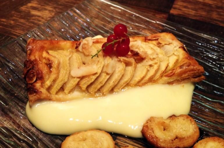 Tartelettes aux pommes et aux amandes