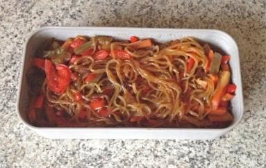 Shirataki de konjac aux légumes façon chop suey
