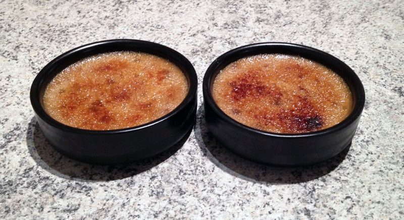 Crème brûlée aux spéculoos