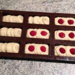 Recette de Financiers aux framboises et chocolat blanc