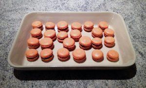 Recette de Macarons chocolat et clémentine
