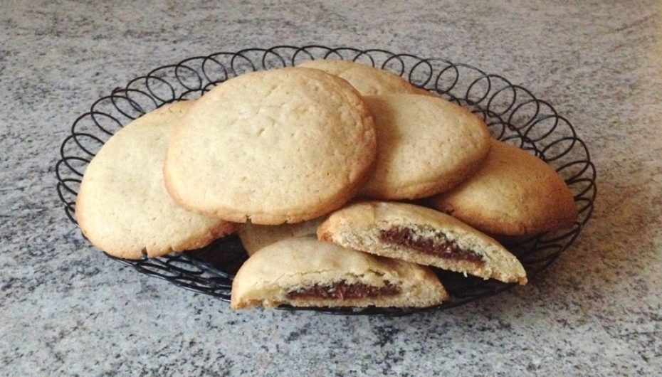 Cookies fourrés au Nutella (façon Starbucks)