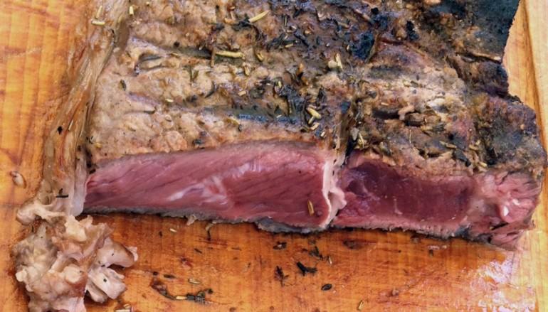 Recette de c te de boeuf au barbecue fa on gut cuisine blog - Cote de boeuf barbecue weber ...