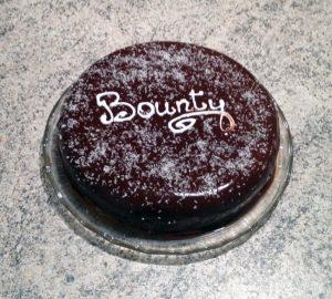"""Recette de Gâteau """"Bounty"""" chocolat et noix de coco"""