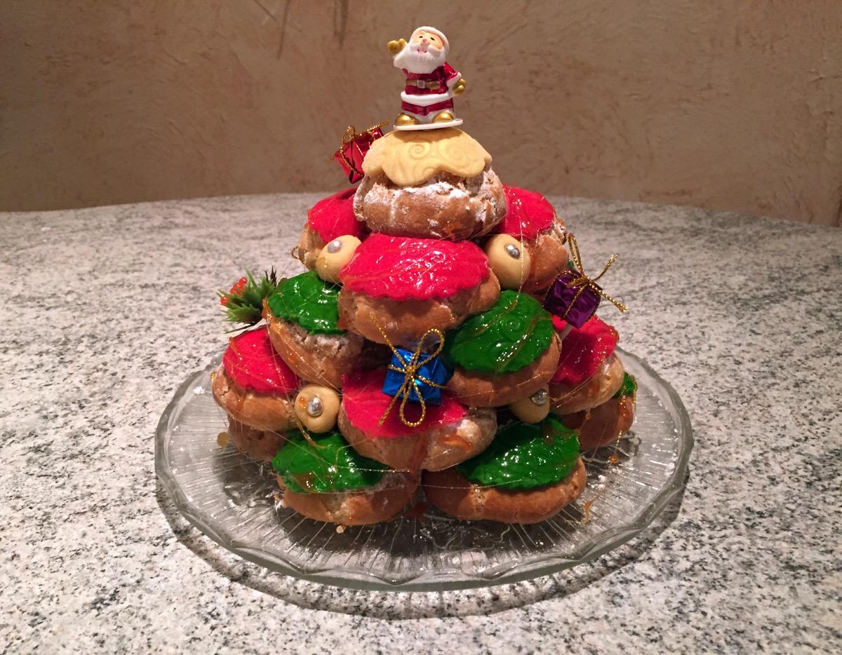 Pièce montée de Noël