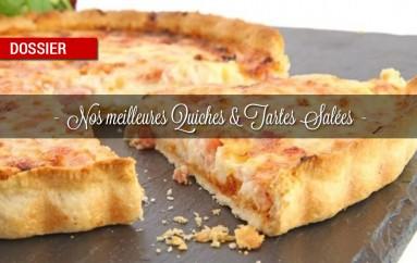 Dossier : Nos meilleures quiches et tartes salées