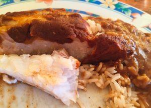 lotte sauce homard 1 300x215 - Queues de lotte et sauce au homard