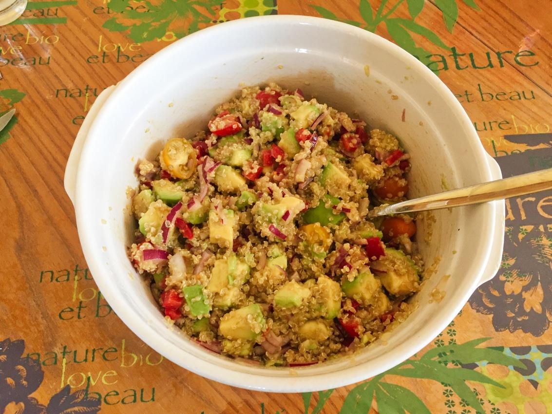Recette Cake Quinoa Legumes