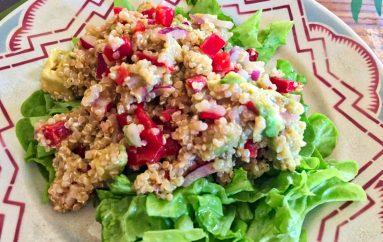 Salade légumes et quinoa