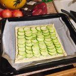 tarte courgettes chèvre jambon prepa 7 150x150 - Tarte fine aux courgettes, chèvre et jambon