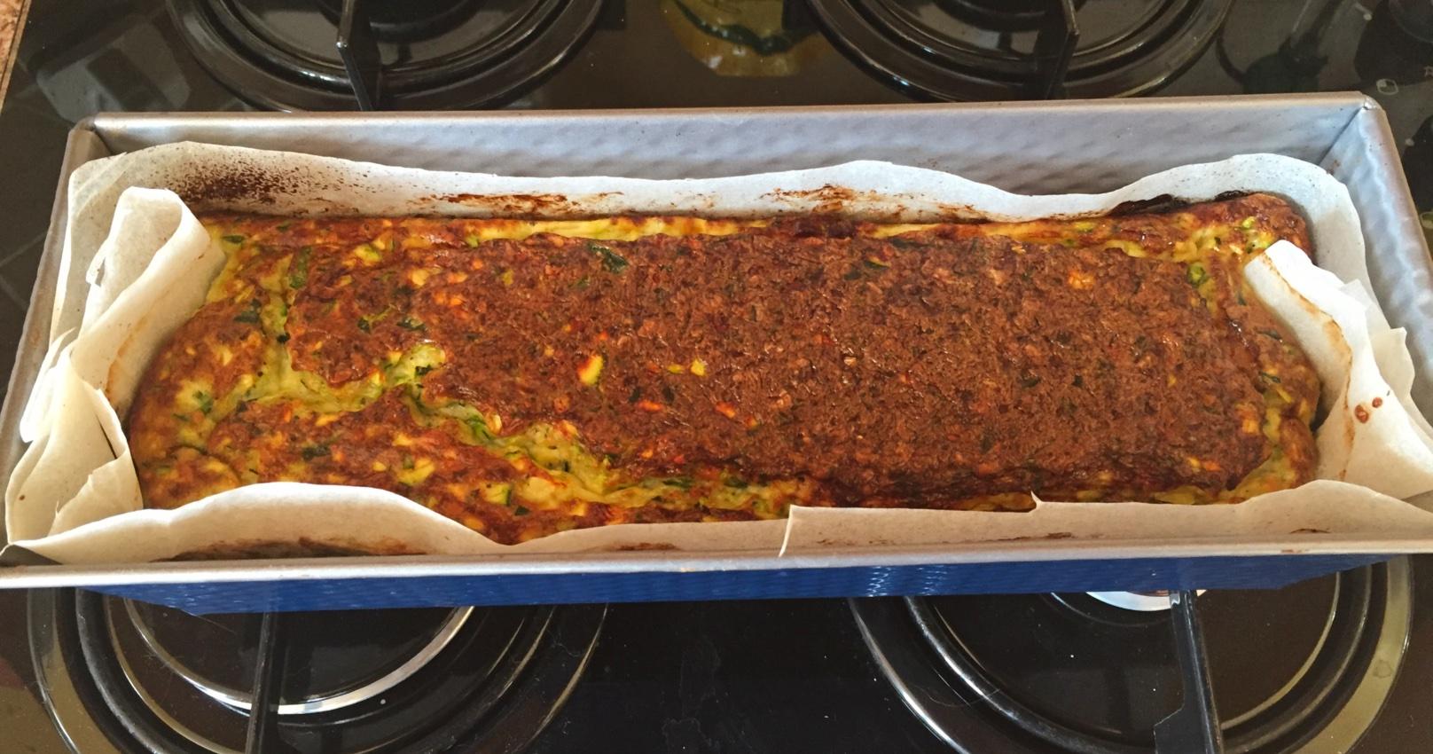 terrine courgettes chevre companion prepa 5 - Terrine de courgettes au chèvre (recette au Companion)