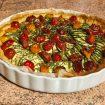 tarte chevre courgettes tomates lardons 1 105x105 - Flan pâtissier (recette Companion)