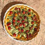 tarte chevre courgettes tomates lardons 2 150x150 - Tarte aux courgettes, tomates, lardons et mousse de chèvre