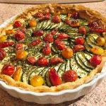tarte chevre courgettes tomates lardons 3 150x150 - Tarte aux courgettes, tomates, lardons et mousse de chèvre