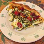 tarte chevre courgettes tomates lardons 4 150x150 - Tarte aux courgettes, tomates, lardons et mousse de chèvre