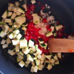 omelette courgette poivron prepa 1 150x150 - Omelette courgette, oignon, poivron