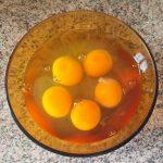omelette courgette poivron prepa 2 150x150 - Omelette courgette, oignon, poivron