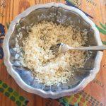 salade riz thon mais poivron prepa 1 150x150 - Salade de riz au thon, maïs et poivron