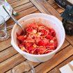 salade tomates oignons feta 1 105x105 - Salade de riz au thon, maïs et poivron