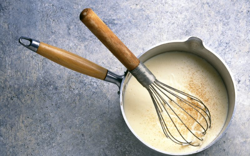 Sauce Béchamel traditionnelle