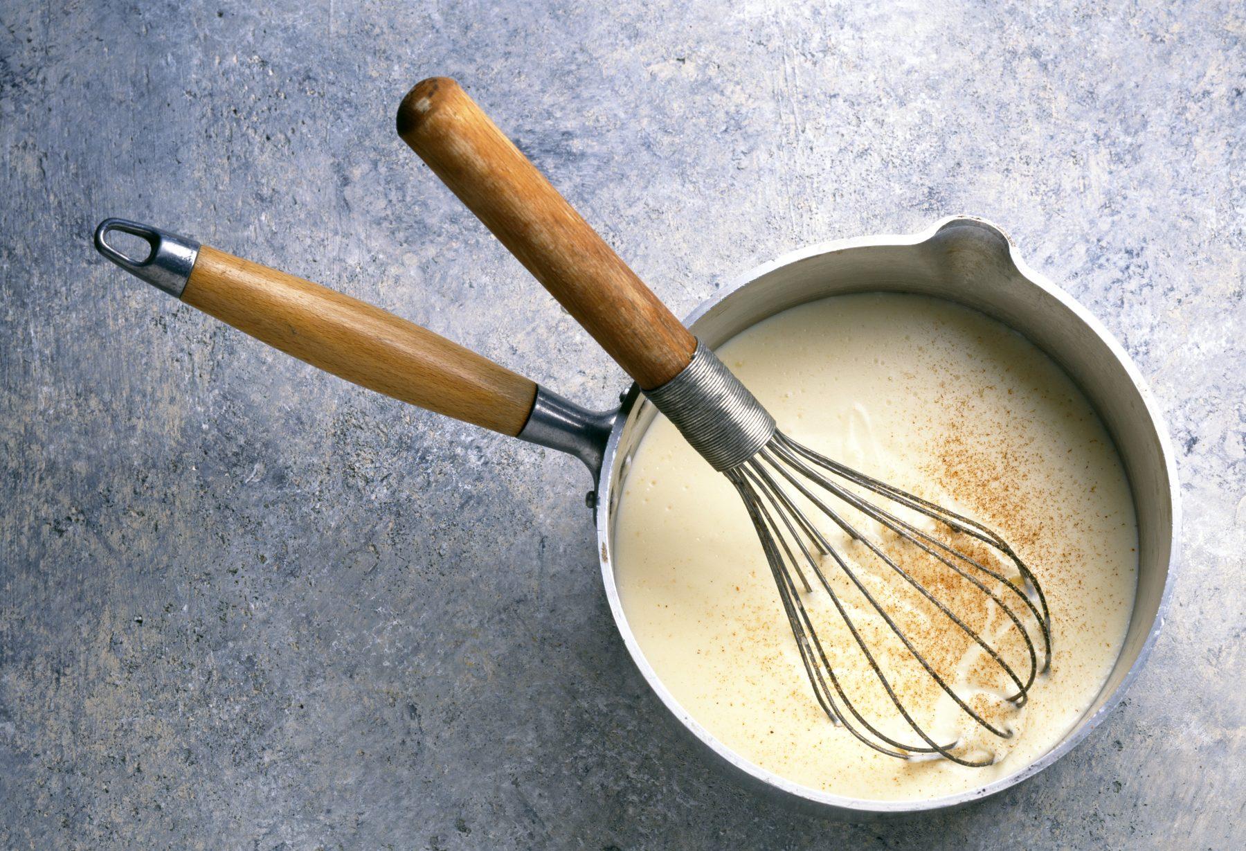 sauce bechamel - Sauce Béchamel traditionnelle