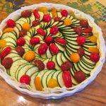 tarte chevre courgettes tomates lardons prepa 4 150x150 - Tarte aux courgettes, tomates, lardons et mousse de chèvre