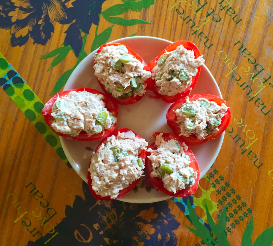 Recette de Tomates farcies au thon   Cuisine Blog