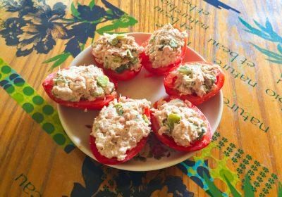 IMG 0669 400x280 - Tomates farcies au thon