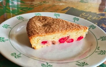 Gâteau lorrain aux griottes