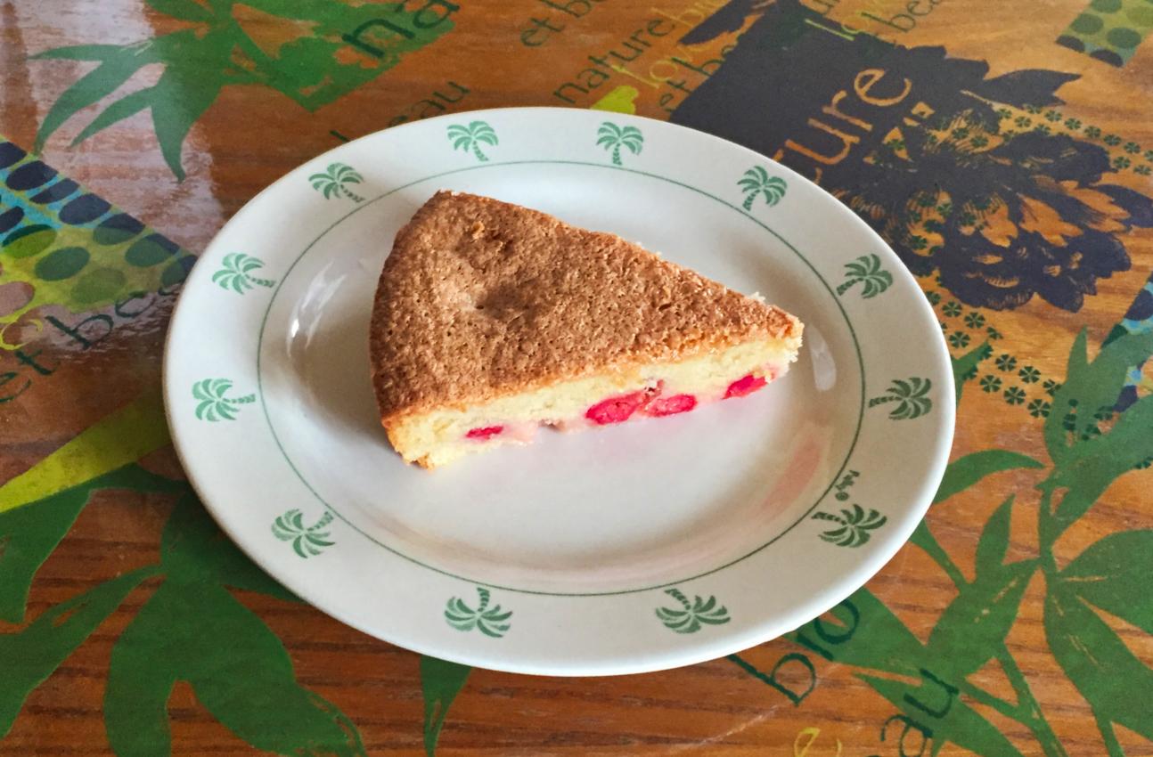 IMG 0675 - Gâteau lorrain aux griottes