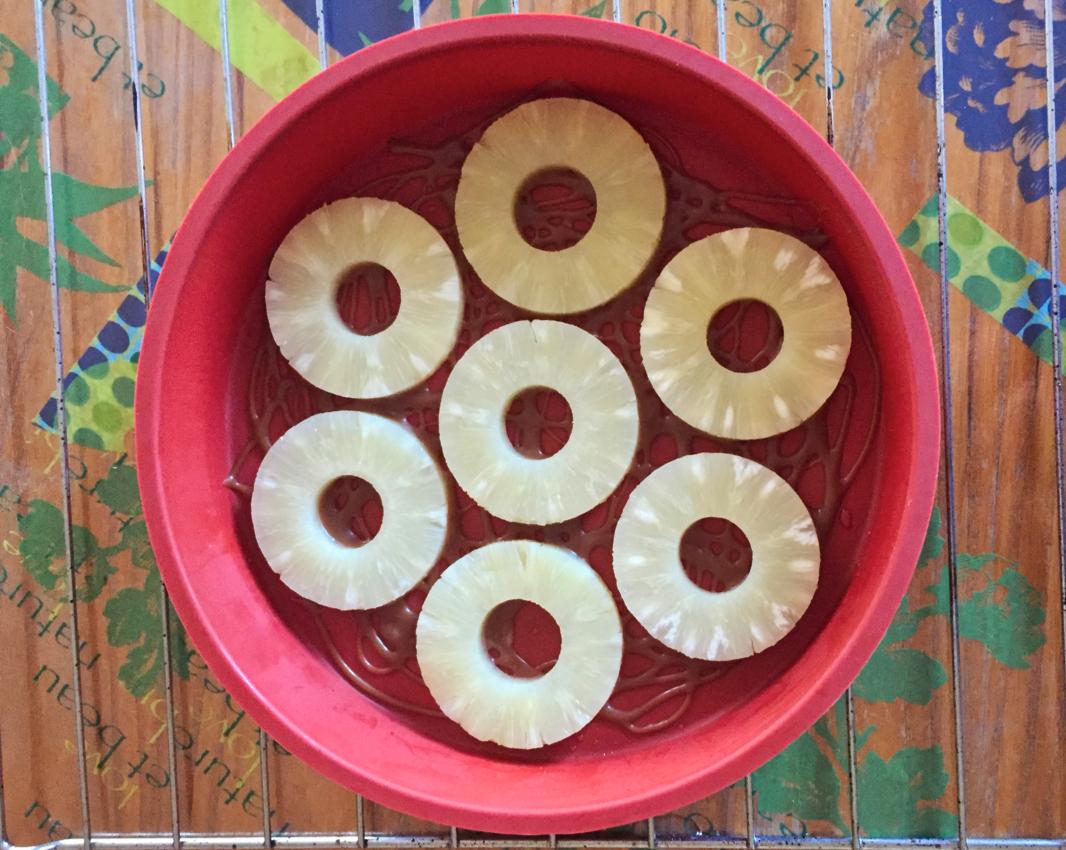 IMG 1062 - Gâteau renversé à l'ananas