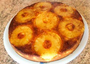 IMG 1066 300x215 - Gâteau renversé à l'ananas