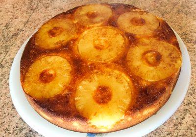 IMG 1066 400x280 - Gâteau renversé à l'ananas