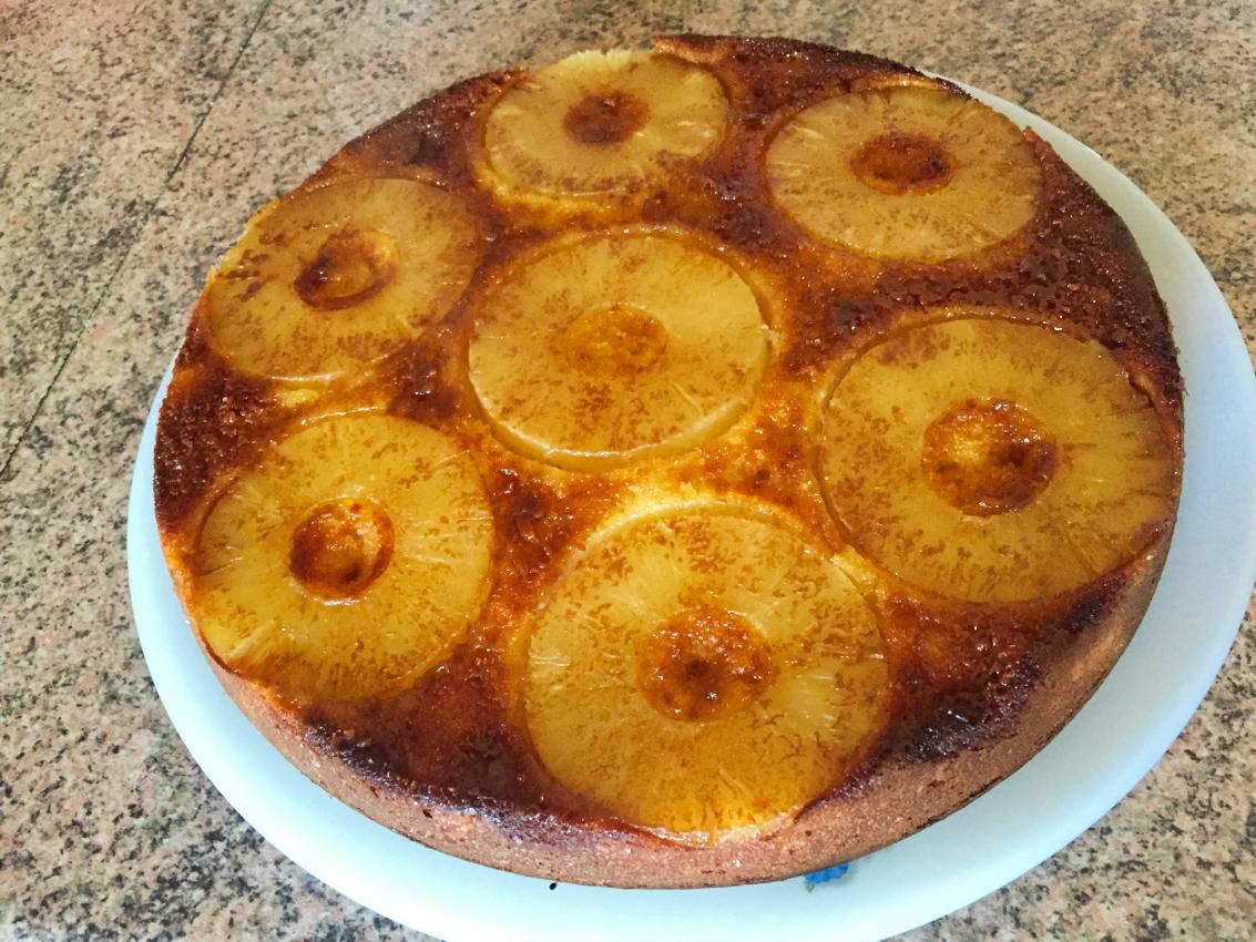 IMG 1067 - Gâteau renversé à l'ananas
