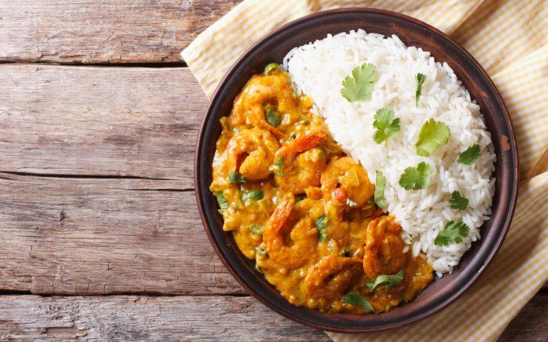 Curry de crevettes (recette Companion)
