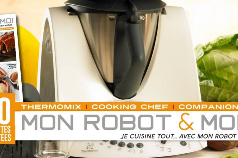 Nouveau magazine : Mon robot & moi