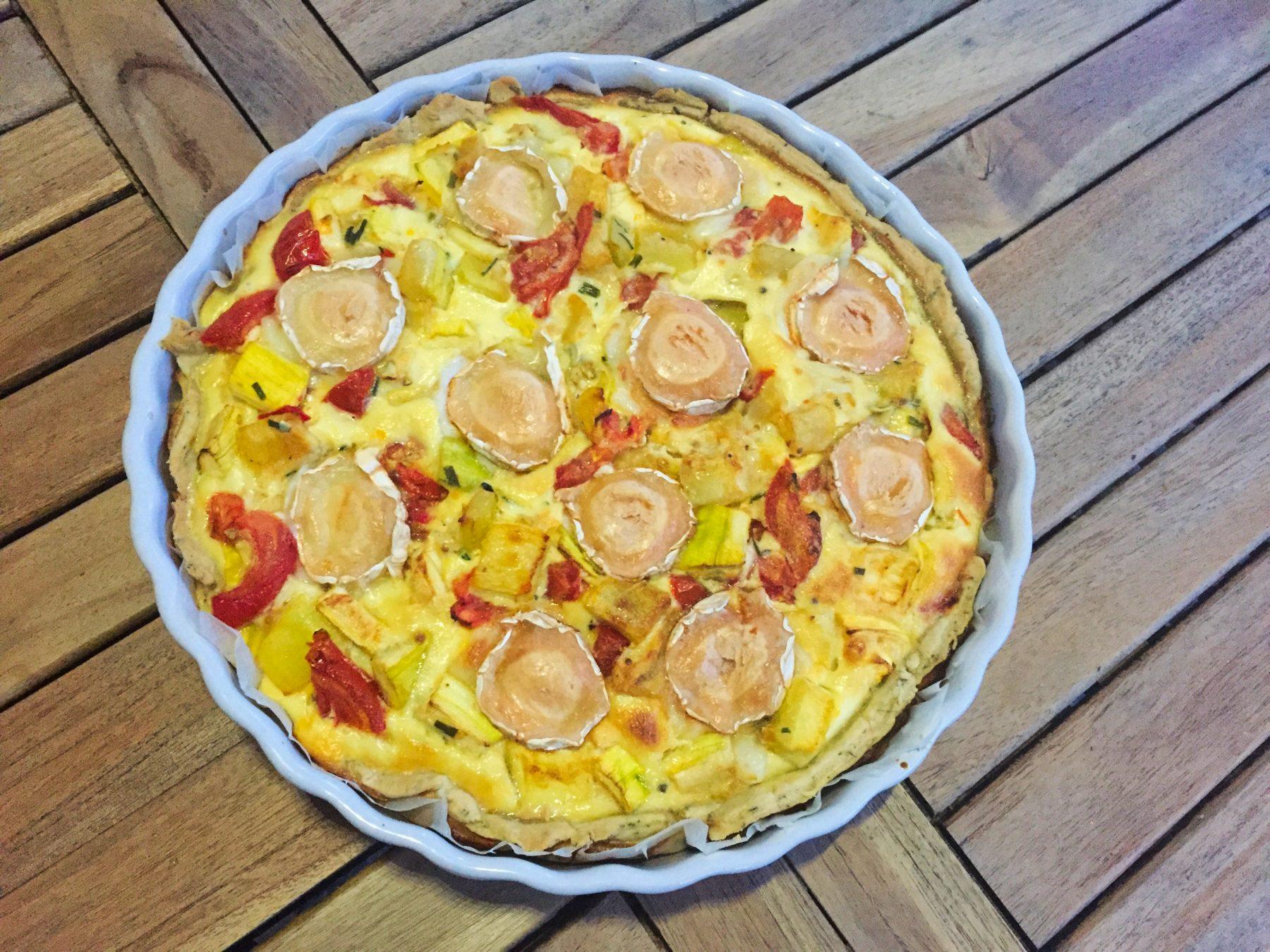 Recette De Tarte Courgettes Tomates Chevre Cuisine Blog